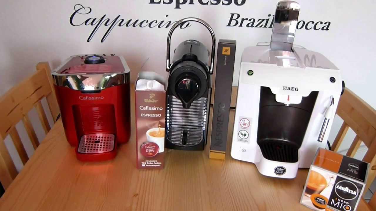 3 kaffeekapselmaschinen 3 espresso cafissimo. Black Bedroom Furniture Sets. Home Design Ideas