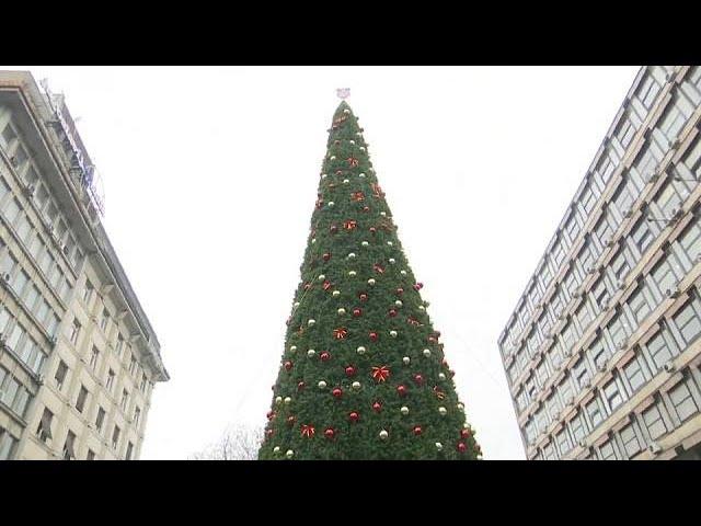 Serbie : polémique autour dun sapin à 83.000 euros