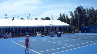 Urszula Radwanska vs Iveta Benesova WTA Sydney 2012