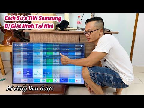 Cách Sửa Tivi Samsung Bị Giật Hình Tại Nhà Ai Cũng Làm Được Và Cách Tháo Nắp Tivi Không Vít