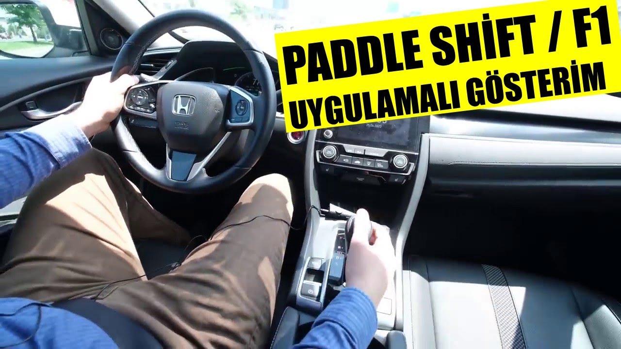PADDLE SHİFT F1 UYGULAMALI GÖSTERİM