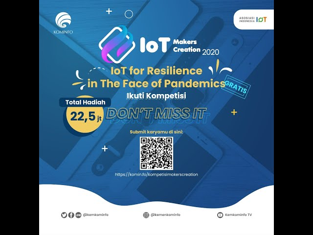 Kompetisi IoT Makers Creation 2020 - i-dukasi