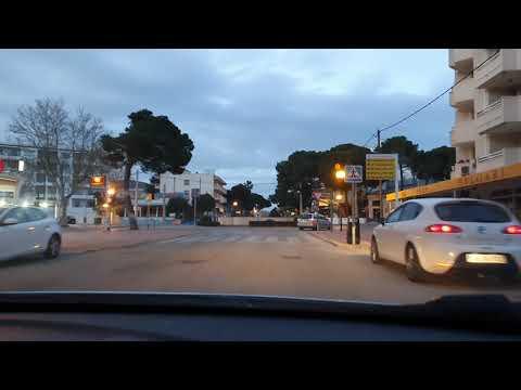 Kleine Abendfahrt durch Cala Ratjada 18.03.21