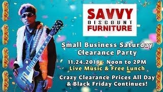 Small Business Saturday 2018 Savvy Discount Furniture