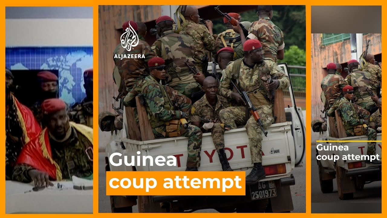Guinea President, Alpha Cond, Seized in Military Coup