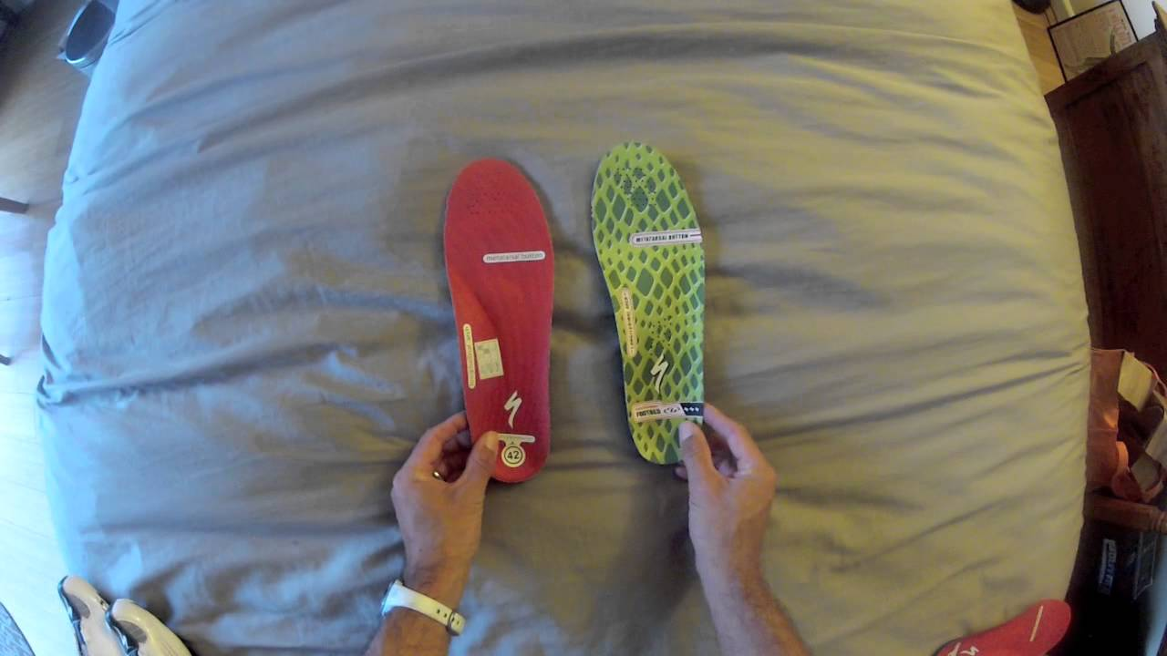 Specialized BG insoles - YouTube
