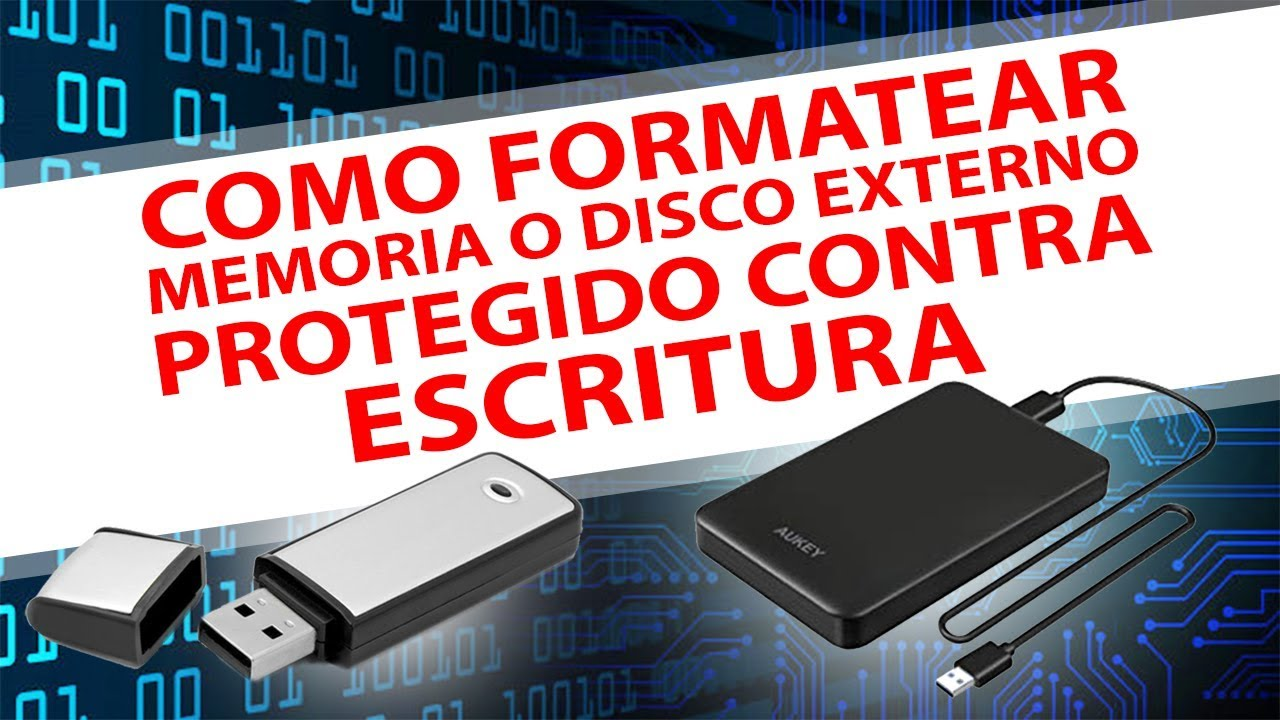 quitar proteccion contra escritura disco duro windows 10