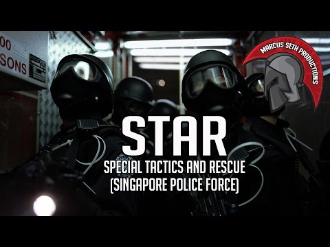 Singapore Police STAR Team (Special Tactics and Rescue)