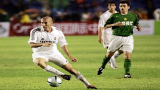 ZIDANE VS BEIJING GUOAN, Highlights World Tour. (23/07/2005)