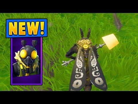 *NEW* Mothmando Skin W/the Moth Lamp Pickaxe! (Fortnite)