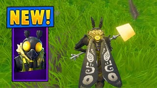 *NEW* Mothmando Skin w/the Moth Lamp Pickaxe! (Fortnite)