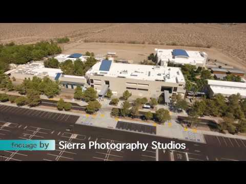 Aerial Views of Cerro Coso Community College