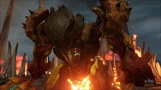 DOOM 4 (2016) - Hell Guards Bosses Fight | The Crucible Gameplay (PC HD) [1080p60FPS]