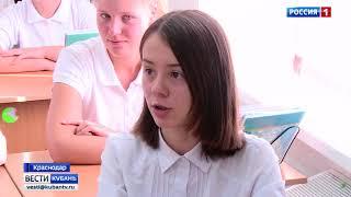 Ведущий «России Кубань» провел урок телемастерства в одной из школ Краснодара