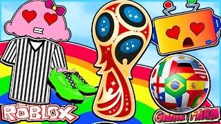 COMEMORANDO 2018 FIFA WORLD CUP EM ROBLOX!!