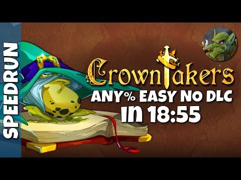 Crowntakers Any% All Items Easy NO DLC - 18:55 |