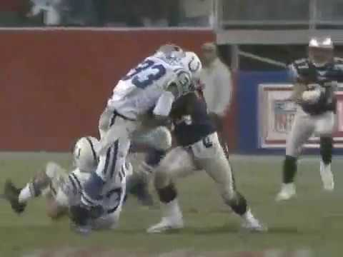2004 Colts @ Patriots AFC Divisional Highlights