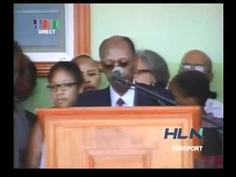 Jean Bertrand Aristide Return Haiti first interview