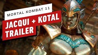 Mortal Kombat 11 - Jacqui Briggs and Kotal Kahn Reveal Trailer
