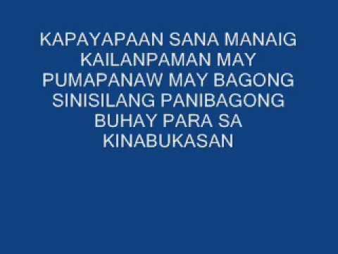 KALEIDOSCOPE WORLD..tagalog version..by rene endencia