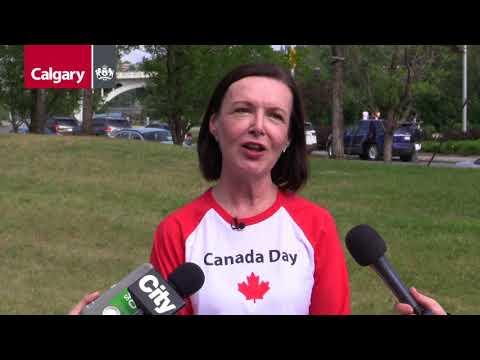 Canada Day Celebrations In Calgary
