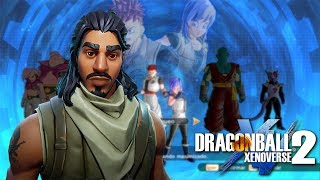 CREATING THE STANDARD FORTNITE SKIN | Dragon Ball Xenoverse 2
