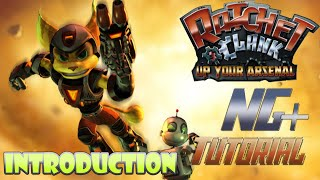 "Ratchet and Clank: Up Your Arsenal NG+ Speedrunning Tutorial Series - ""Day 1"" Intro"