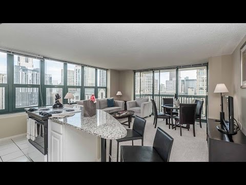 Furnished luxury apartments at River North's One Superior Place
