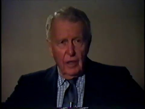 RALPH BELLAMY INTERVIEWED by JOHN GALLAGHER part one