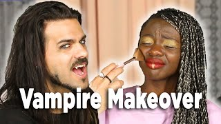 I Let A Vampire Do My Makeup