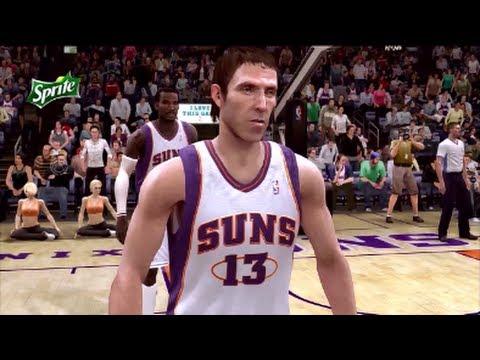 NBA Live 09 Gameplay: Suns vs Cavs