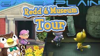 Finding Redd & Exploring the Museum's New Art Gallery! - Animal Crossing: New Horizons (Gameplay)