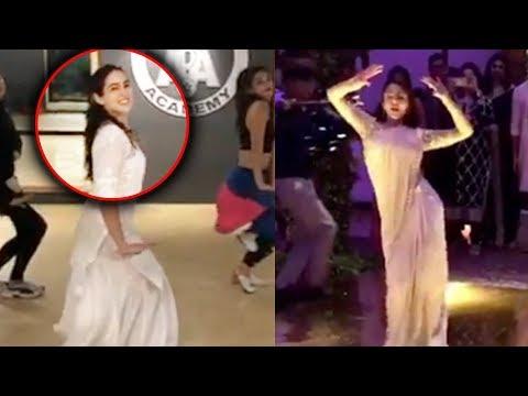 Sara Ali Khan Dance Rehearsal Video On Kedarnath's Sweetheart & Saat Samundar Paar Mp3