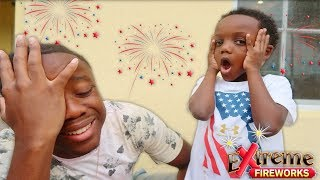 Video BURNED BY FIREWORKS WHILE POPPING OUR BEST FIREWORK SHOW!! download MP3, 3GP, MP4, WEBM, AVI, FLV Agustus 2018