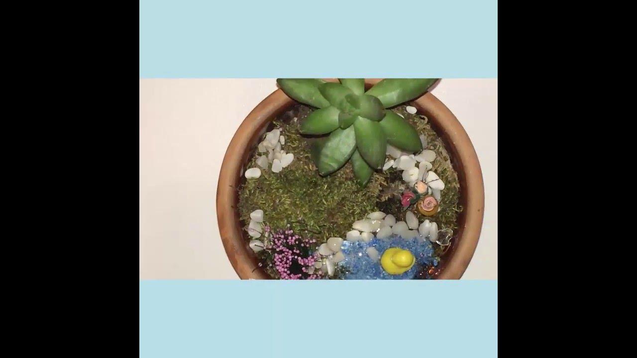 Minyatür Bahçe Yapımı Fatoşun Minyatürleri Youtube