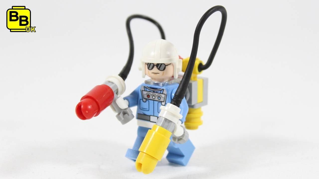 Lego Batman Movie Condiment King Minifigure Creation Youtube