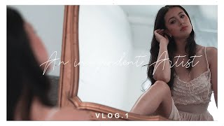 An Independent Artists Vloggg ❧ DTLA Model Shoot