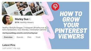 How to grow your pinterest viewers 2019 | tips increase traffic for bloggers