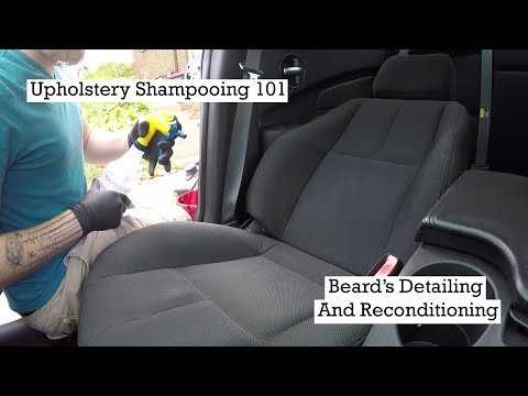 Learning The Basics Of Upholstery Shampooing