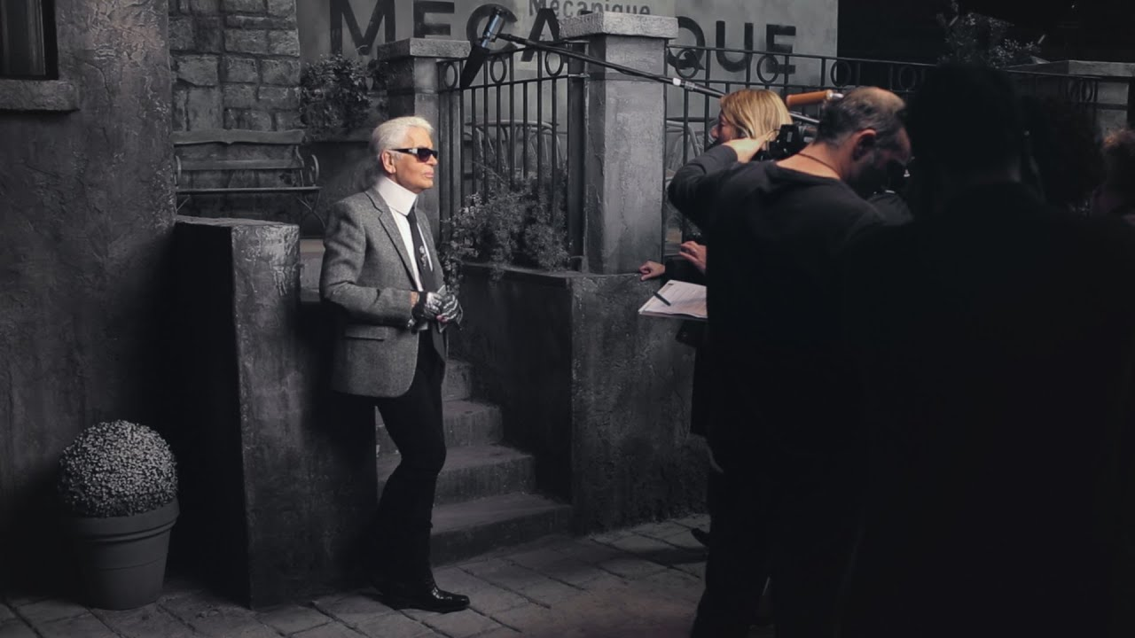 Karl Lagerfeld's Interview - Paris in Rome 2015/16 Métiers d'Art show - CHANEL