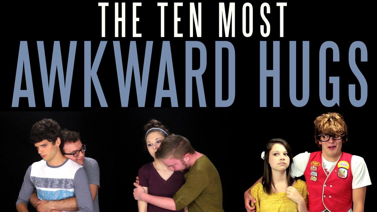 The Ten Most Awkward Hugs Messy Mondays Youtube