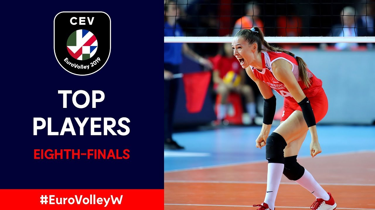 #EuroVolleyW | Top Players – Eighth-Finals