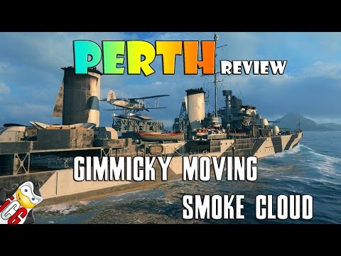 World of Warships - Perth Review - Gimmicky Moving Smoke Cloud