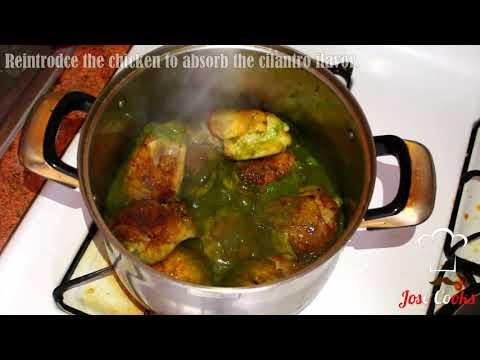 Peruvian Cilantro Chicken Rice (Arroz Con Pollo Peruano) -Chicken & Rice Recipe | JOSE COOKS