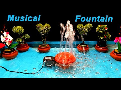 How to make Musical Dancing Fountain / DIY