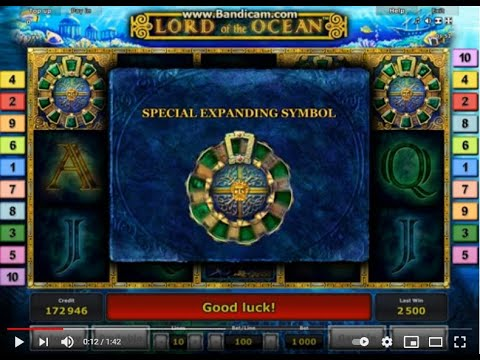 Slot Lord Of The Ocean bonus bet 100 online