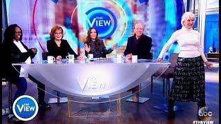 Donald Sutherland & Helen Mirren - The View