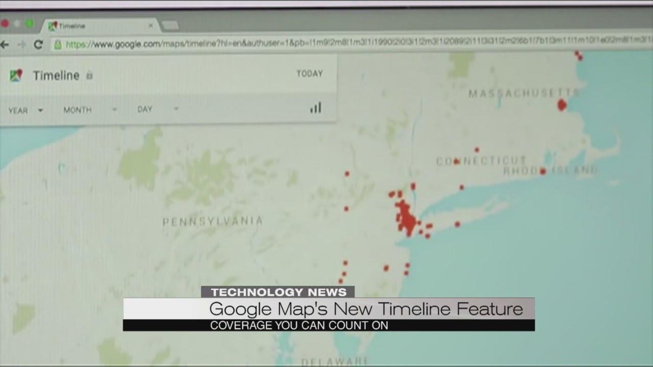 Google Maps timeline - YouTube