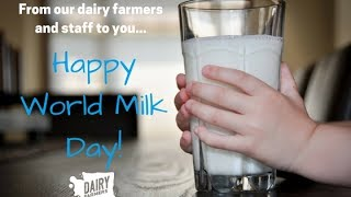 Happy World Milk Day from the Dairy Farmers of Washington!