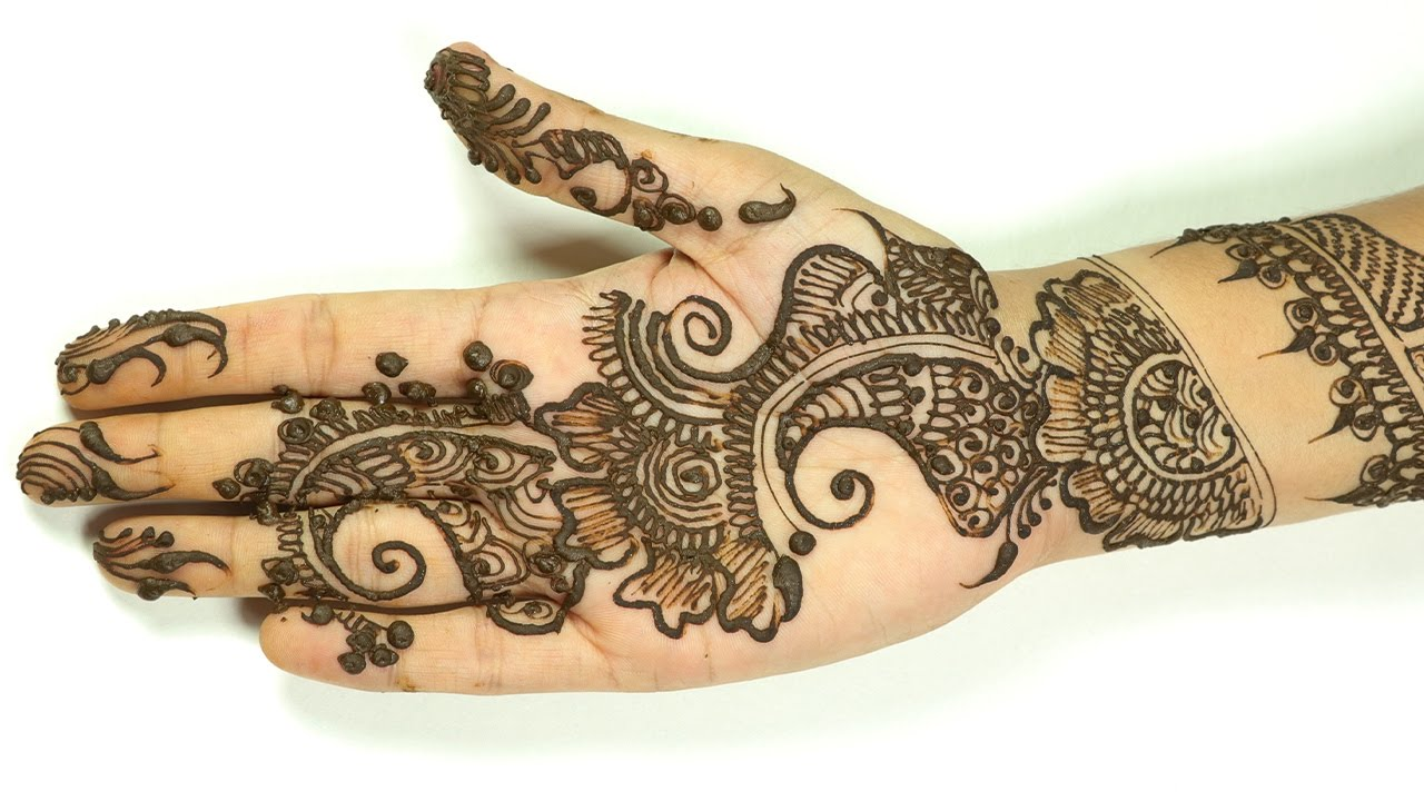 Simple Indian Mehndi Designs For Hands Easy Mehndi For Beginners